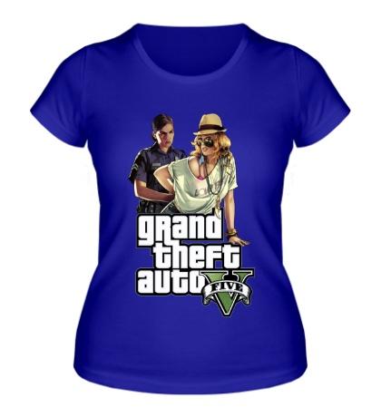 Женская футболка GTA 5: Police