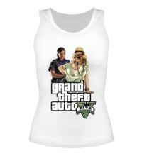 Женская майка GTA 5: Police