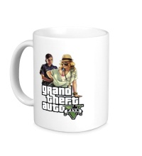 Керамическая кружка GTA 5: Police