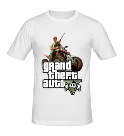 Мужская футболка GTA 5: Gangster