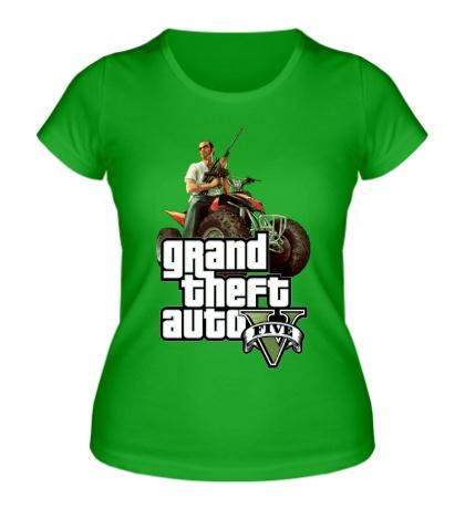 Женская футболка GTA 5: Gangster