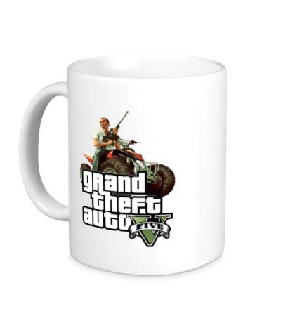 Керамическая кружка GTA 5: Gangster
