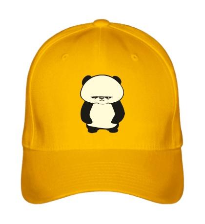 Бейсболка Угрюмая панда, свет
