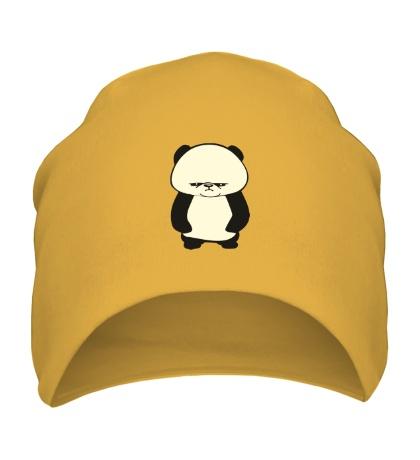 Шапка Угрюмая панда, свет