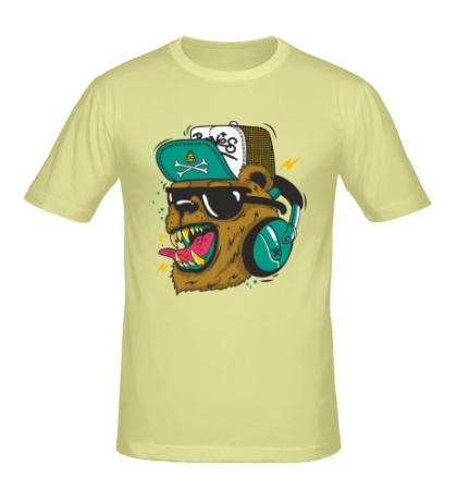 Мужская футболка Boom, Boom Bear