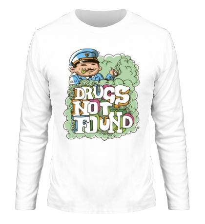 Мужской лонгслив Drugs Not Found