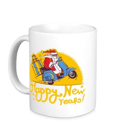 Керамическая кружка Happy New Year