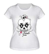 Женская футболка Poker Face