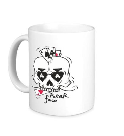 Керамическая кружка Poker Face