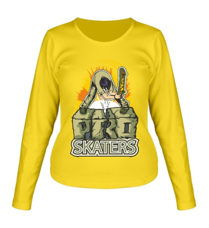 Женский лонгслив PRO Skaters