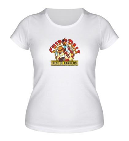 Женская футболка Chip n Dale