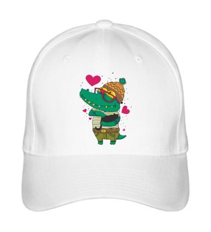 Бейсболка Влюбленый крокодил