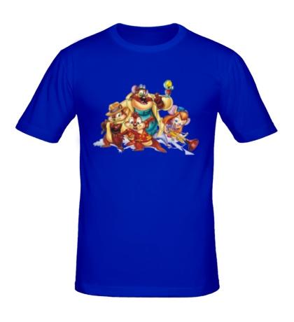 Мужская футболка Чип и Дейл