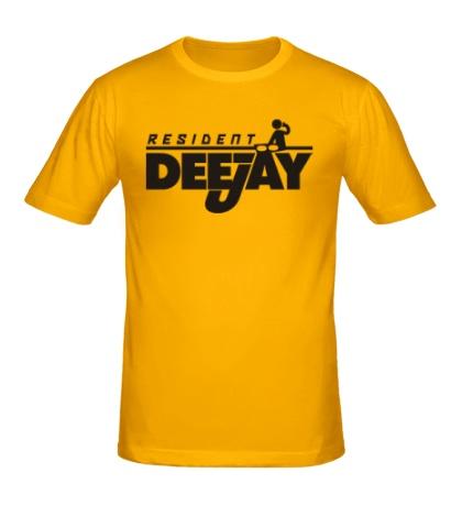 Мужская футболка Resident DJ