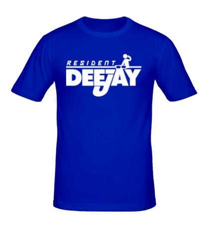 Мужская футболка «Resident DJ»
