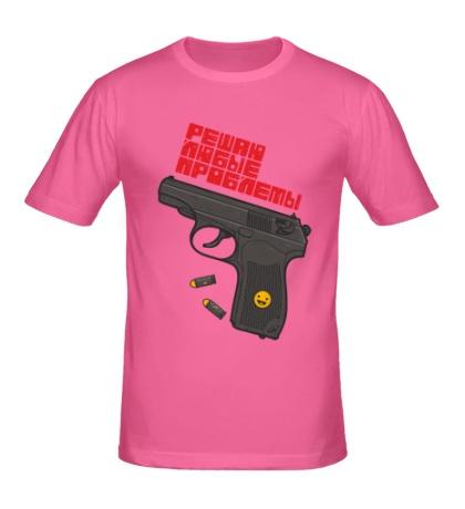 Мужская футболка Решаю любые проблемы