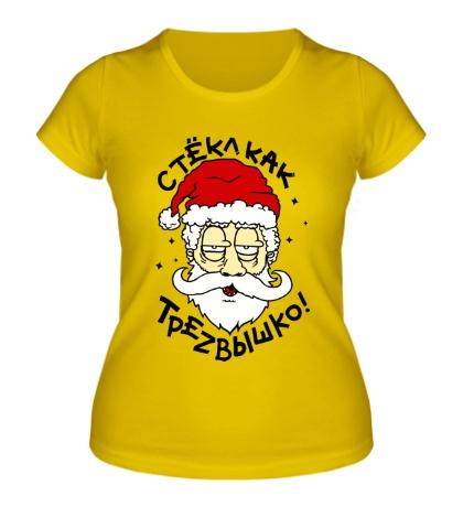 Женская футболка Стекл как трезвышко