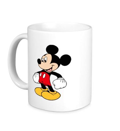 Керамическая кружка Микки Маус