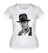 Женская футболка Индиана Джонс: Харрисон Форд