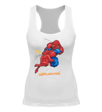 Женская борцовка Spider-Man Comics