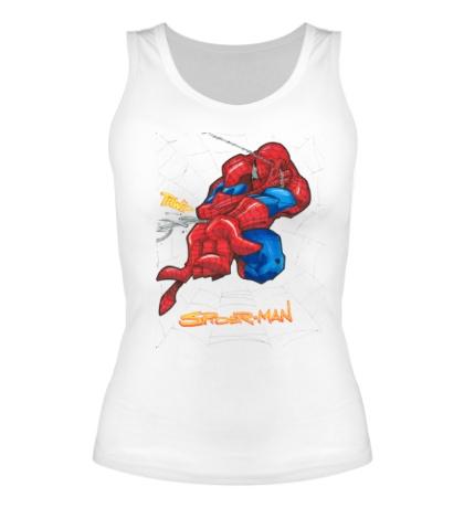 Женская майка Spider-Man Comics