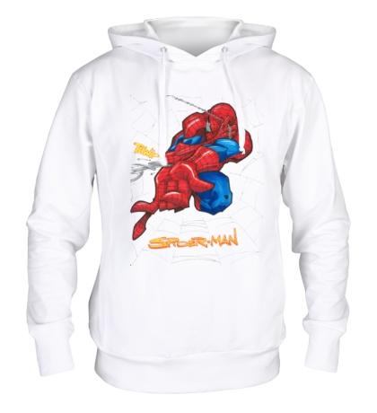 Толстовка с капюшоном Spider-Man Comics
