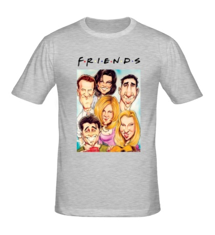 Мужская футболка Friends: Poster