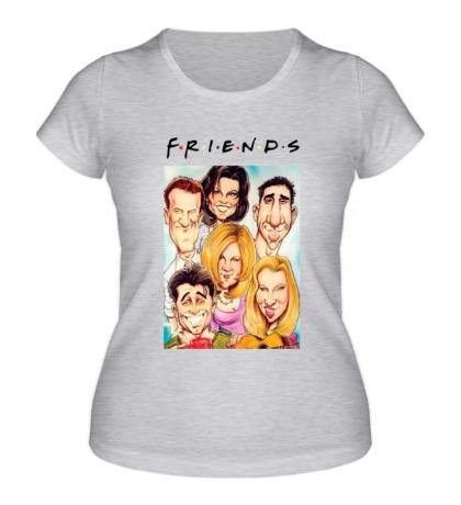 Женская футболка Friends: Poster