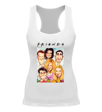 Женская борцовка Friends: Poster