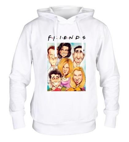 Толстовка с капюшоном Friends: Poster