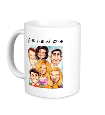 Керамическая кружка Friends: Poster