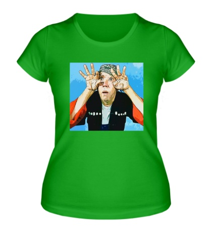 Женская футболка Юрий Никулин