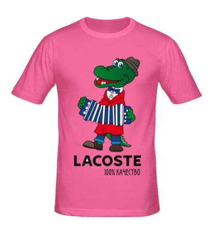 Мужская футболка Lacoste 100%