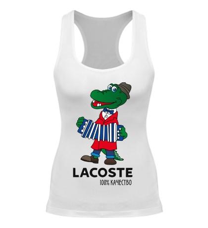 Женская борцовка Lacoste 100%