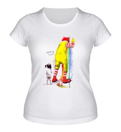 Женская футболка Lovin it now