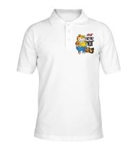 Рубашка поло Еду на юг