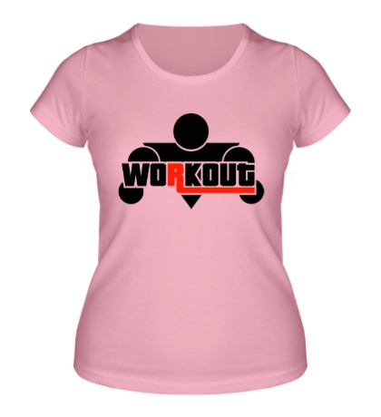 Женская футболка WorkOut GTA V Style