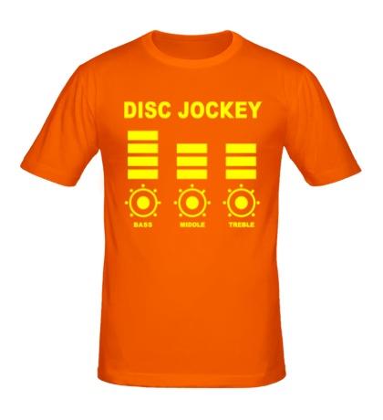 Мужская футболка Disc Jockey