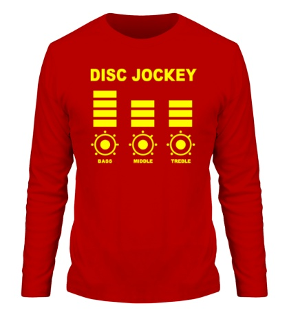 Мужской лонгслив Disc Jockey