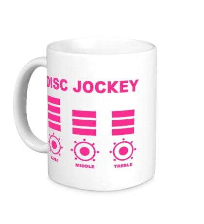 Керамическая кружка Disc Jockey