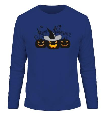 Мужской лонгслив Dark Halloween
