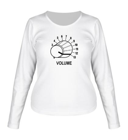 Женский лонгслив Volume