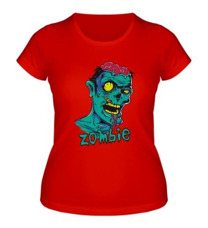 Женская футболка Horror Zombie