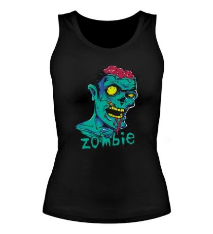 Женская майка Horror Zombie