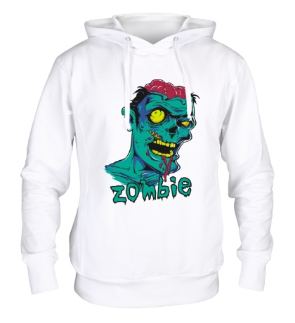 Толстовка с капюшоном Horror Zombie