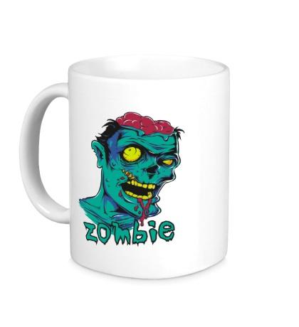 Керамическая кружка Horror Zombie