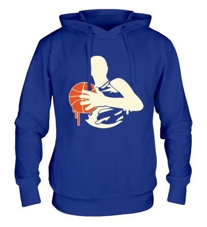 Толстовка с капюшоном Баскетболист