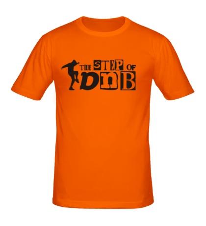 Мужская футболка «The Step of DNB»