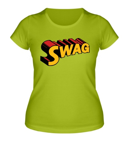 Женская футболка Super Swag