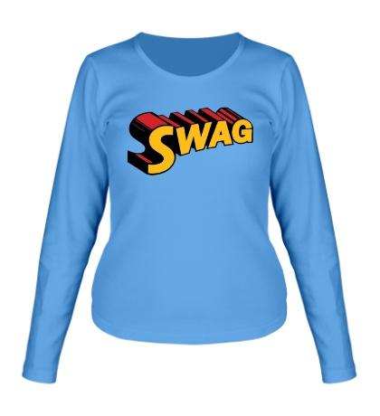 Женский лонгслив Super Swag